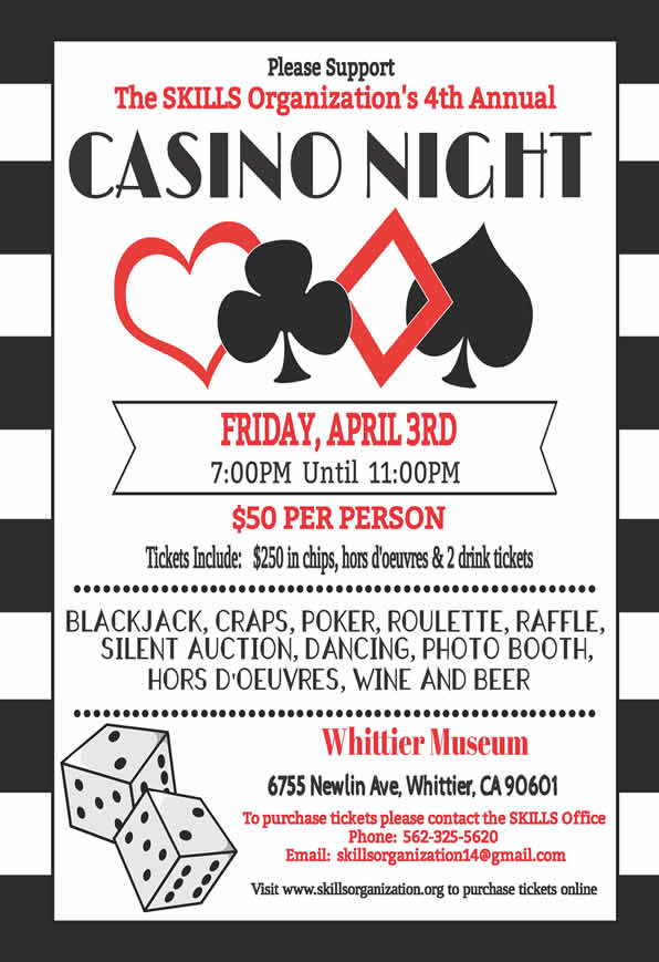 3rd Annual Casino Night Gala